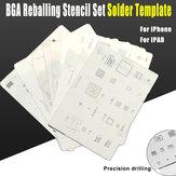16 teile / los ic karte chip BGA reballing schablone kits set löten vorlage für iphone x 8 7 6 s 6 Plus se 5 s 5c 5 4S 4 ipad hohe qualität