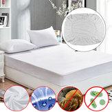 Anti Dust Mite Matratzenschoner atmungsaktiv ausgestattet Bettlaken wasserdichte Möbel wasserdichte Abdeckung