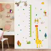 Miico SK9350 Giraffe Height Stickers Children's Room Kindergarten Decorative Wall Stickers DIY Sticker
