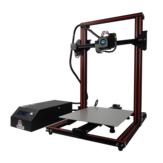 طابعة مطورة ثلاثية الأبعاد من كرياتيت KR-10S ThorPro ثلاثية الأبعاد مع مجموعة مطورة بحجم 300 × 300 × 400 مم مع مكونات ليزر / One رأس لولبي مزدوج فوهة / US Plu