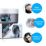 Original              Hair Cream Silver Gray Hair Wax Temporary Hairstyle Cream