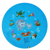 68inch Kid Swimming Air Mattress Water Splash Mat Outdoor Water Play Mat Wading Toy