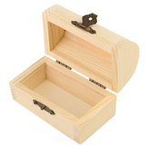 Hollow Wooden Jewelry Organizer Case Gift Box