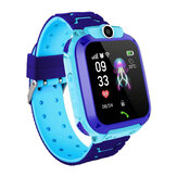 Z5 1.4in GPS Posizionamento HD fotografica Messaggio vocale SOS Anti-perso Chilren Smart Watch Phone LED Touch Screen Torcia impermeabile Composizione indipendente Kids Smart Bracelet