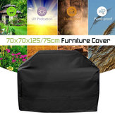 Waterproof High Back Chair Covers Furniture Protection Cover Outdoor Patio Garden