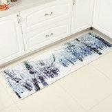 180 सेमी गैर पर्ची रसोई बाथरूम मंजिल चटाई पैड गलीचा कालीन Doormat इनडोर कुशन