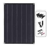 ETFE 40W flessibile solare Kit modulo pannello Caricatore per barca Caricatore doppio controller DC USB