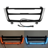 Illuminato LED Dual Color AC Radio Trim Retrofit per BMW 3 4 M3 M4 Serie F30 F31 F32 F33 F34 F36 F80 F82 F83