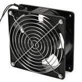 16W Eléctrico Soldadura Kit de ventilador de escape de absorbente de humo de hierro Soplador de aire Soldadura Ventilador de escape de humo Ventilador de succión y escape industrial Ventilador de ventilación