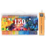 Brutfuner 608 Zestaw kolorowych ołówków 150 kolorów Rozpuszczalne w wodzie ołówki akwarelowe Kredki szkicowe Rainbow Ołówek Artysta Artykuły szkolne