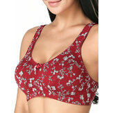 KISSLACE Cotton Full Coverage Wireless Leisure Bras