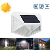 100 LED Solar PIR Motion المستشعر Wall ضوء Garden Garden Yard Pathway Street Lamp