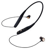 733 Card Magnetic Neck-mounted Wireless Sports Headphone Stereo Pair Ear Wireless Bluetooth Headset