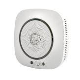 MoesHouse WiFi Detector de vazamento de gás inteligente Detector de segurança contra incêndio Sensor Life Smart Tuya App Control Sistema de segurança doméstica