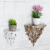Antyczny kinkiet ścienny w stylu europejskim Dekoracyjny stojak na półki Półka na kwiaty Dekoracje domowe