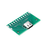 20pcs TYPE-C Female Test Board USB 3.1 with PCB 24P Female Connector Adapter For Measuring Current Conduction