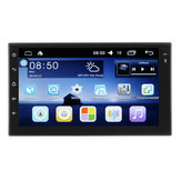 Android 7 Cal 2 Din HD Ekran dotykowy WIFI Bluetooth 4.0 Mirror Link Car Black MP5 Player OBD
