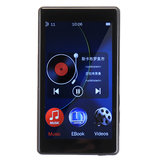 RUIZU D20 8GB MP3 موسيقى Player FM Radio Recording عالي الوضوح MP4 فيديو Player E-book خارجي Speaker
