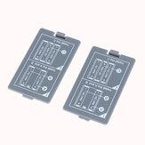 2 Adet Batarya MDS8207 Dijital Osiloskop Batarya Bölme Kapak için Arka Kapak