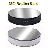 10KG Fotografia portante Studio fotografico Velocità regolabile Gioielli rotativi Display Supporto Giradischi elettrico a 360 gradi