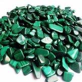100 جرام الطبيعي هبط الملكيت الأحجار الكريمة الريكي مصقول الشفاء ديكورات