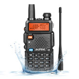 Baofeng UV-5R Ⅲ Walkie Talkie 136-174MHz 220-260MHz 400-520MHz اتجاهان راديو