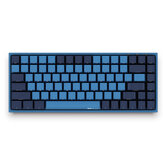 AKKO 3084 SP Ocean Star 84 Keys Mechanical Keyboard PBT Keycap Cherry Switch USB 2.0 Type-C Wired Side Letter Caverd Design Gaming Keyboard