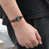 Whale Tail Weave Hombre pulsera