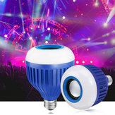 E27 RGB Wireless bluetooth Speaker Lights Smart LED Bulb Music Lamps + Remote Control AC110-220V