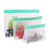 3 Maten Ziplock Voedsel Opbergtas Herbruikbare Seal Fresh Keeping Fruit Snack Holder