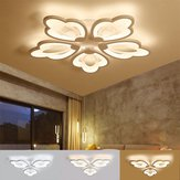 Leaf Acrylic LED Ceiling Light Pendant Lamp Hallway Bedroom Dimmable Fixture