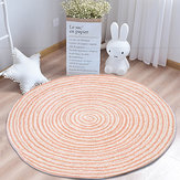 Foldable Non Slip Floor Rug Mat Round Carpet Modern Home Living Room Decorations