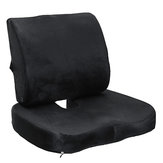 Memory Foam Seat Cushion Lumbar Back Support