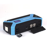 Portable 89800mAh 12V Car Jump Starter Multifunctional Pack Booster Battery Charger 4 USB Emergency Power Bank