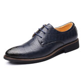 Men Microfiber Waterproof Formal Shoes