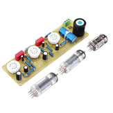 JCDQ11 Tube Amplifier 6N1+6P1 Valve Stereo Amplifier Board Filament AC Power Supply + 3Pcs Tubes