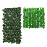 Artificial Green Fence Art Foliage Hedge Backdrop Plant Wall Grass Panel Decorations