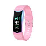 Bakeey-kleurendisplay 24 uur continue hartslag Bloeddruk WhatsApp-herinnering Lange stand-by Smart Watch-band