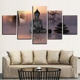 5 piezas moderno lienzo impresión pinturas cartel pared arte imagen decoración del hogar sin marco