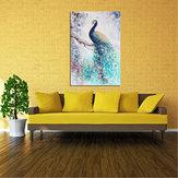 Pavão HD Pintura em tela sem moldura Pavão Arte Pinturas Imagem Wall Home Decor
