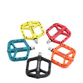 BIKEIN P165PL 14mm Mountain Bike Pedals Nylon Fiber Bearing Pedal Oudoor Cycling Antiskid Bicycle Pedals