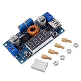 5pcs XL4015 5A High Power 75W DC-DC Adjustable Step Down Module LED Voltmeter Power Supply Module