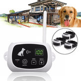 500 Meters Pet Electric Waterproof Rechargeable Wireless Remote Control 3 Dogs Fence Training System Pet Trainer