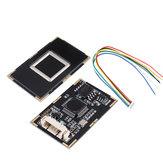 Емкостной считыватель отпечатков пальцев R301T Модуль контроля доступа Датчик Сканер USB UART RS232 TTL 15KV