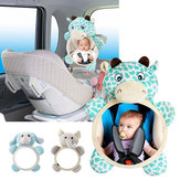 Baby Backseat Mirror Safety Seat Rear View Mirror For Car View Infant Rear Facing Newborn Animal