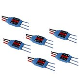 6 PCS RW.RC 15A Brushless ESC 5V2A BEC 2S 3S for RC Models Fixed Wing Airplane Drone