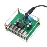 DC-DC Step Down Regulator Power Converter 10V 12V 24V 36V To 5V/8A 6 USB Output Power Supply Module