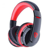 MX666 Cuffie da gioco wireless pieghevoli Cuffie con microfono Bluetooth vivavoce over-ear con supporto per microfono FM TF
