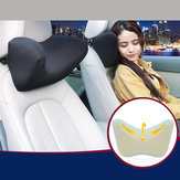 Car Seat Headrest Head Pillow Pad Foam Memory Travel Neck Rest Support Cushion