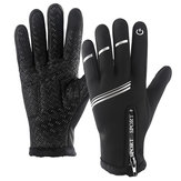 Winter Ski Handschoenen Touchscreen Motorfiets Snowboarden Waterdicht Thermische reflecterende strip Antislip Warm Heren Dames